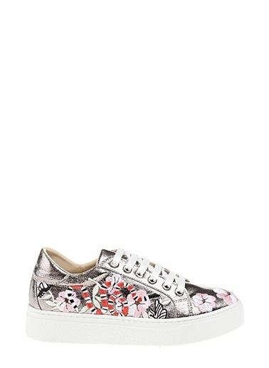 Derigo Sneaker Ayakkabı Gümüş